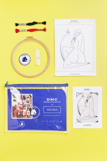DMC Design Collective: Hiedra Embroidery kit