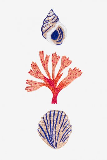 Meeresbewohner - STICKMOTIV