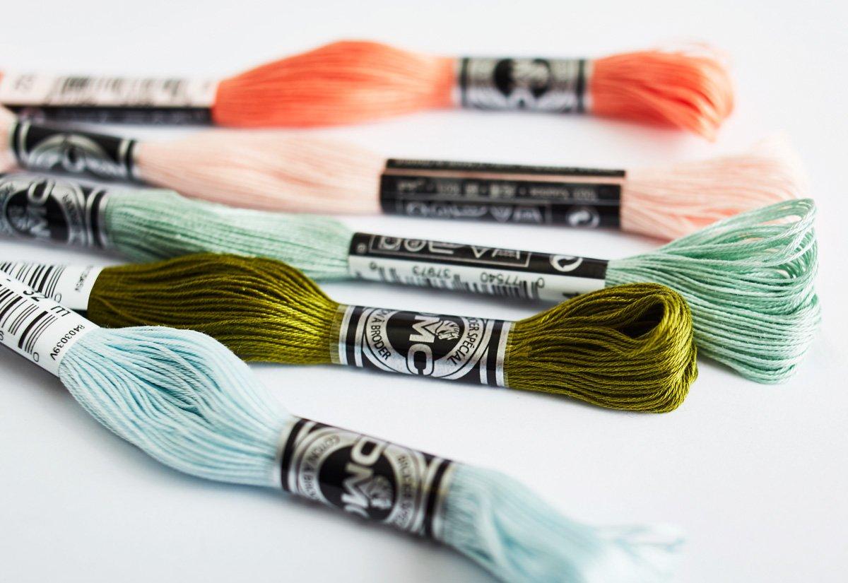 DMC Cotton a Broder Thread No 25-32m Colour Number 561