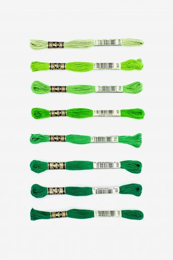 Grass is Greener Floss Assortment