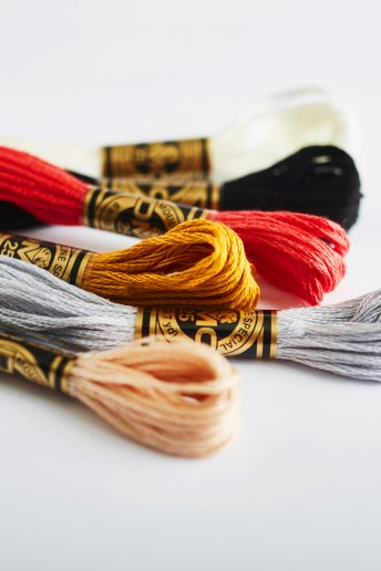 Six-Strand Embroidery Floss - 489 Colors Available