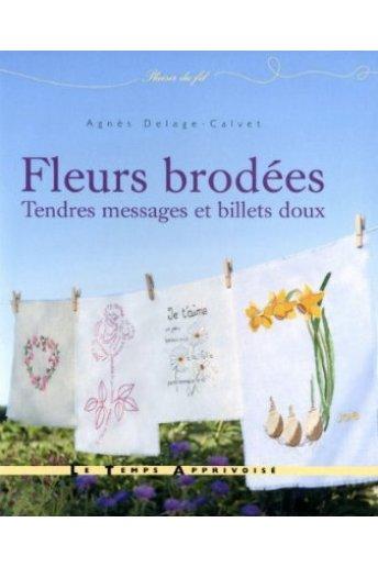 Fleurs brodées, tendres messages et billets doux 14744/1