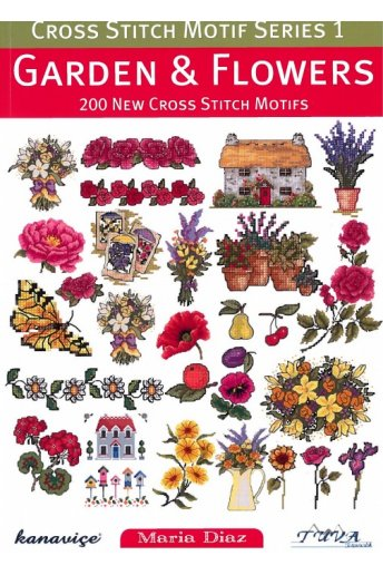 Cross stitch garden & flowers