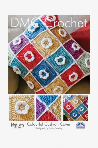 Colorful Cushion Cover Pattern Leaflet
