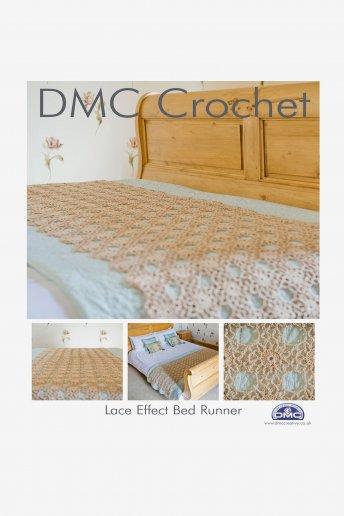 Lace Effect Bed Runner Pattern Leaflet