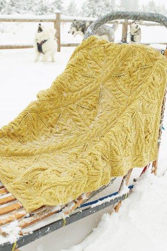 Throw Blanket Knitting Pattern