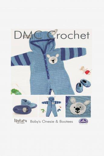 Baby's Onesie & Booties Pattern Leaflet