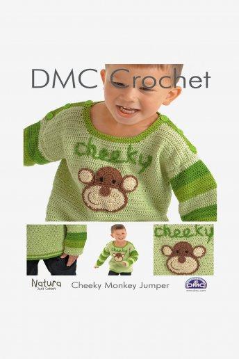 Cheeky Monkey Sweater Pattern Leaflet