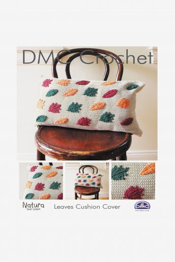 Leaves Cushion Cover Pattern Leaflet