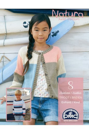 Catalogue natura 8 modèles au tricot pour enfant 15361/22
