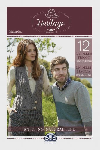 Catalogue tricot woolly héritage