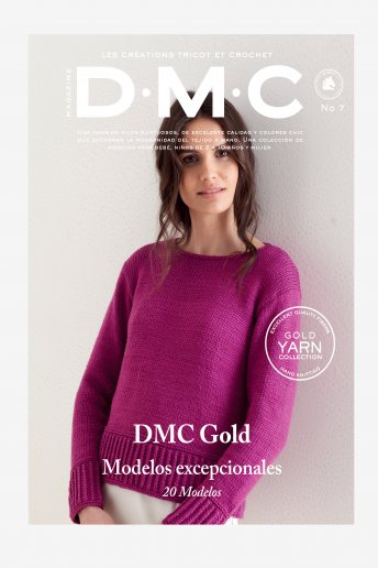 Revista Tricot y ganchillo gama Gold
