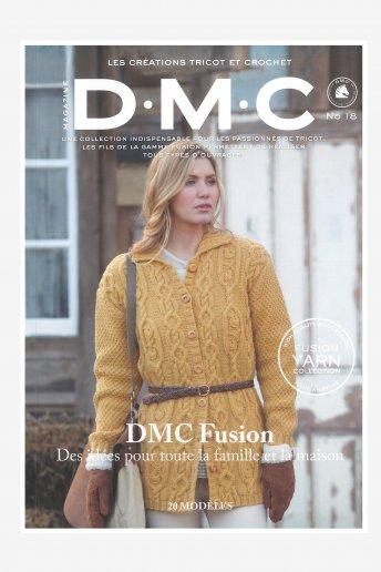 Revista tricô DMC Fusion
