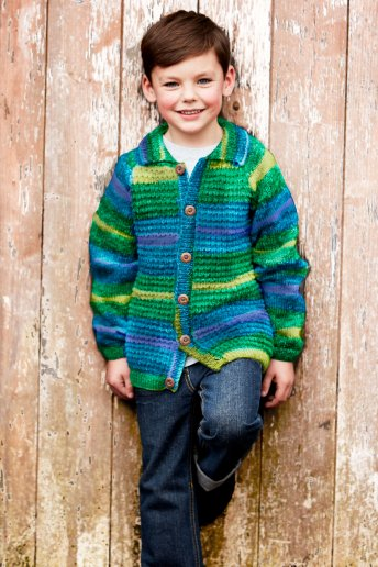 Modelo Knitty Pop chaqueta niño