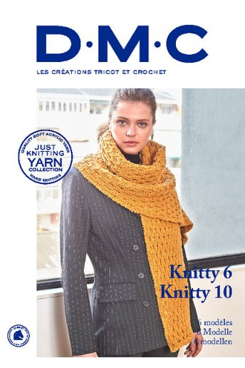 Catalogue 6 modèles laine Knitty 6