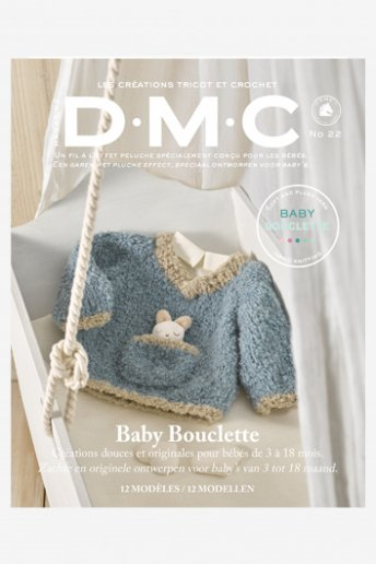 CATÁLOGO TRICOT BABY  lana Bouclette