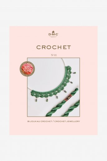 Pearl Crochet Jewelry Book