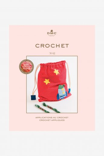 Pearl Crochet Applique Book
