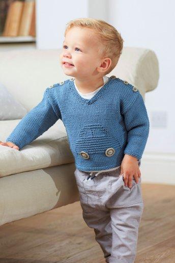 Modelo Baby Cotton jersey niño 5268