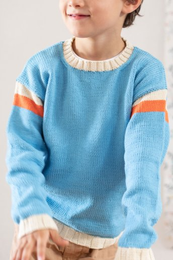 Boys' sweater pattern Natura n°6815