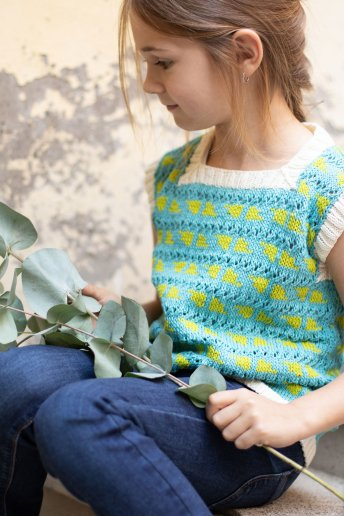Girls' top pattern Natura n°6817