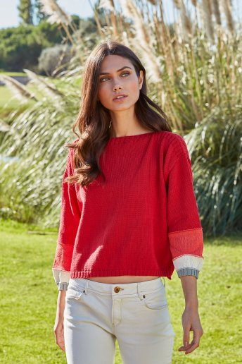 Womens' sweater pattern Natura n°6821