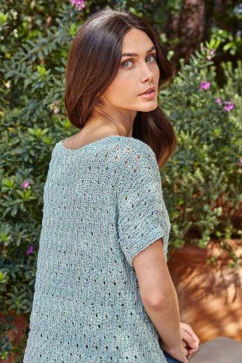 Modelo Blusa mulher Natura Glam n.º 6780