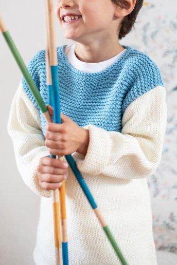 Modelo Natura Medium jersey niño 6772