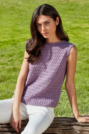 Women's sweater pattern Natura Linen n°6777