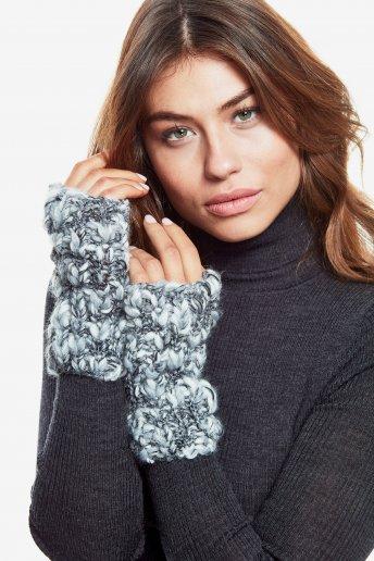 Modello Marylin guanti senza dita per donna