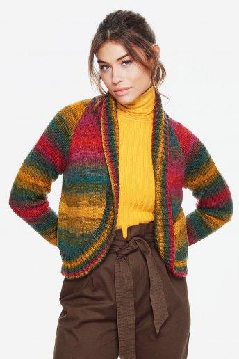 Modelo Brio chaqueta corta mujer