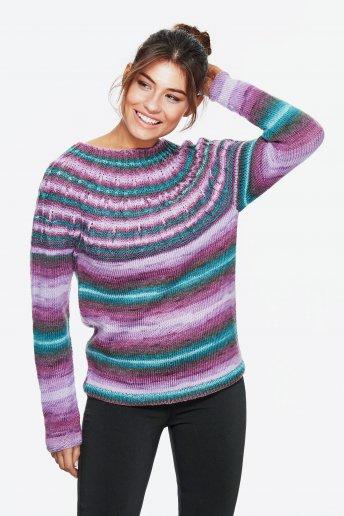Modelo Brio jersey fantasía mujer