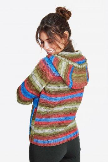 Modelo Brio chaqueta capucha mujer
