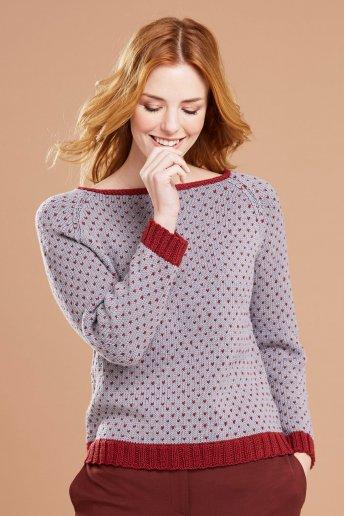 Modello Merino Essentiel 4 pull per donna - Spiegazioni gratuite