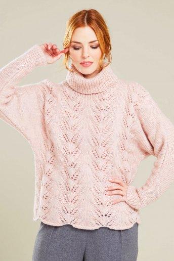 Modelo Midnight jersey calado para mujer - EXPLICACIONES GRATIS