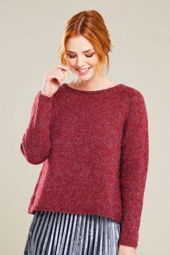 Modello Midnight maglia donna con spacco - SPIEGAZIONI GRATUITE