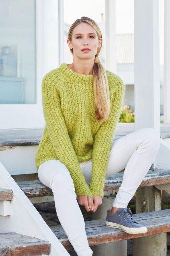 Modelo Ankara jersey para mujer
