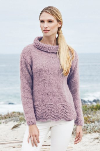 Modelo Ankara jersey de ondas para mujer