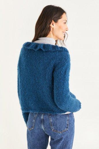 Casaco de lã para mulher Modelo Ankara