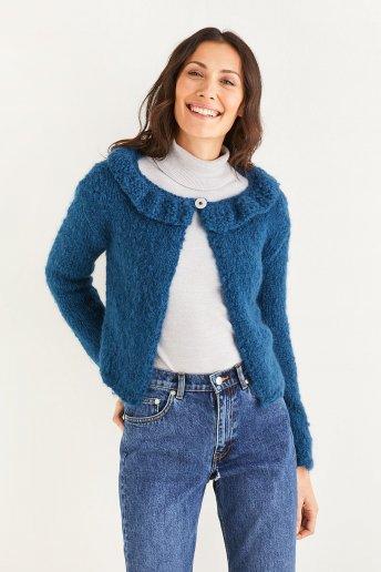 Chaqueta de lana de mujer modelo Ankara - explicaciones gratuitas