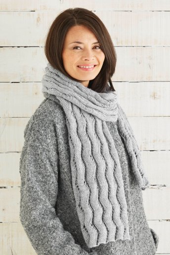 Modèle Knitty 4 Glitter écharpe