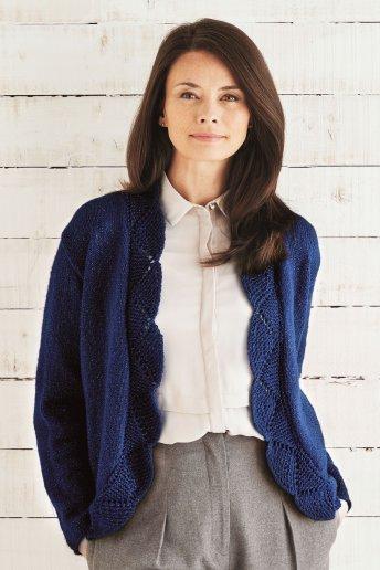 Modèle Knitty 4 Glitter cardigan donna