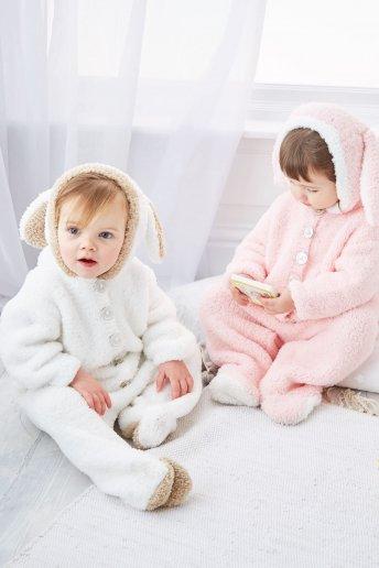 Modelo Teddy pijama conejito para bebé