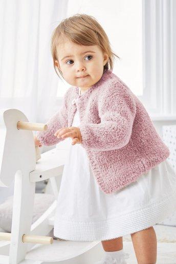 Modelo Teddy Casaco para bebé -  Explicações grátis