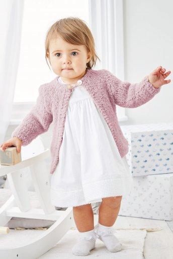 Modelo Chaqueta para bebé -  Explicaciones gratis