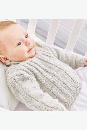 Modelo Sweetie Camisola para bebé - SPIEGAZIONI GRATUITE