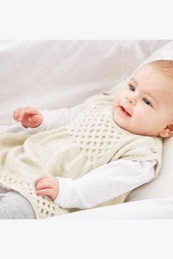 Modelo Sweetie Vestido para bebé - Explicaciones português