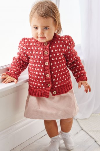 Modelo para tricotar com a lã Air - Explicações grátis