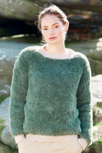 Modelo jersey Samara para mujer - EXPLICACIONES GRATIS