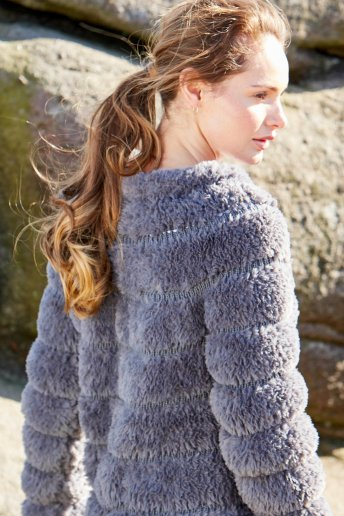 Modelo chaqueta Samara para mujer - EXPLICACIONES GRATIS